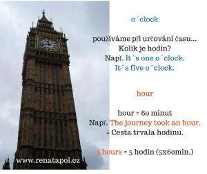 o´clock hour